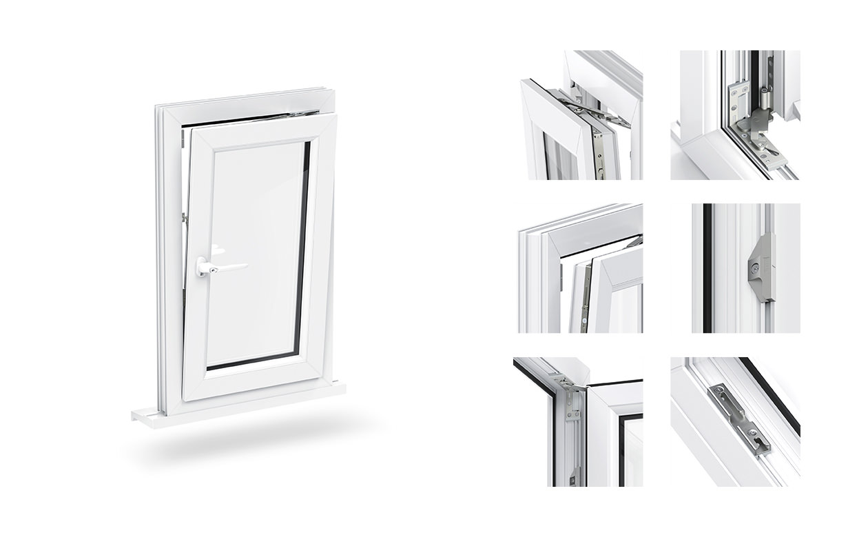 uPVC tilt and turn windows buckingham